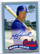 2015 Topps Archives FF Auto Silver