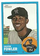 2012 Topps Heritage Blue 217