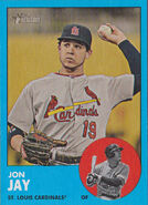 2012 Topps Heritage Blue 250