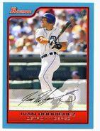 2006 Bowman Baseball Blue Parallel