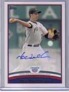 2012 Topps Opening Auto NW