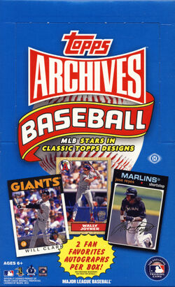 2012 Topps Archives Hobby Box.JPG