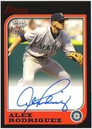 2005 Bowman Baseball A-Rod Auto 97