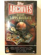 2001 Topps Arch S1 Hobby Box