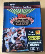 1991 Stadium Club S1 Box