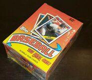1988 Topps Wax Box