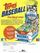 1981 Topps Sell Sheet