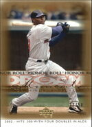 2002 UD Honor Roll Base Gold