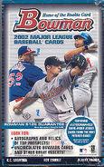 2002 Bowman Baseball Card Hobby Box