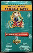 1993 UD Fun Pack Box