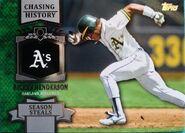 2013 Topps Chasing History Henderson CH58