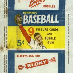 1955 Bowman Baseball