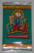 1993 UD Fun Pack Foil Pack