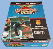 1991 Stadium Club S2 Box
