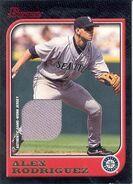 2005 Bowman Baseball A-Rod Jersey 97