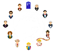 Doctor Who Clock wo Symbol