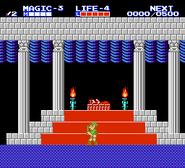 Legend of Zelda II Links Adventure North Palace