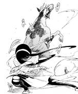 Yor neutralizes the cow