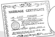 Loid and Yor's Marriage Certificate
