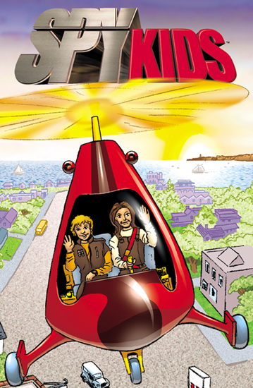 Spy Kids (personalized children's book)