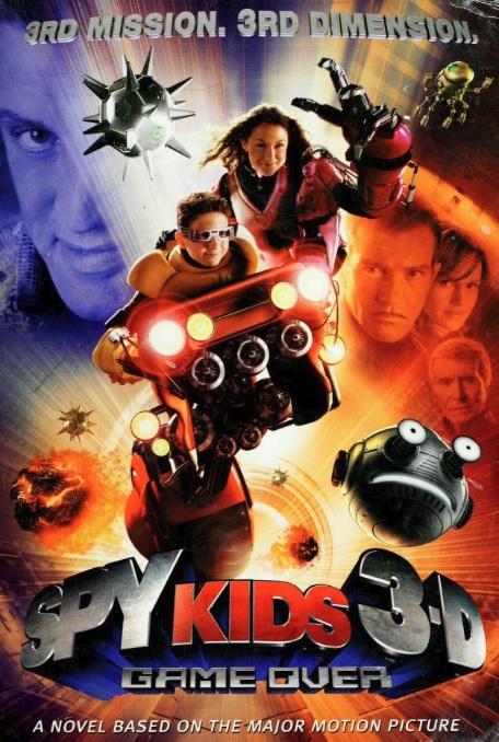 Spy Kids 3-D: Game Over Junior Novel