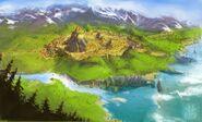 Spyro Plan de masse (ville) dragoncity