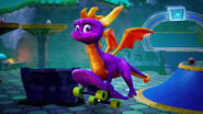 Spyro-Reignited-Trilogy Switch Enchanted-Towers-Skatepark