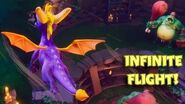 Spyro Reignited INFINITE FLIGHT GLITCH!!! Guide