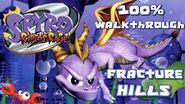 Spyro 2- Ripto's Rage! 100% Walkthrough - 15 - Fracture Hills