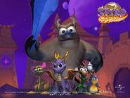 Spyro & Friends Desktop Wallpaper