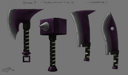 A Wraith Tier2 Weapons
