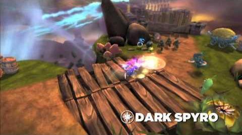 Skylanders Spyro's Adventure Meet the Skylanders - Dark Spyro