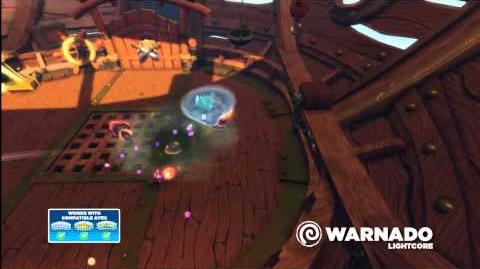 Skylanders Swap Force - Meet the Skylanders - LightCore Warnado