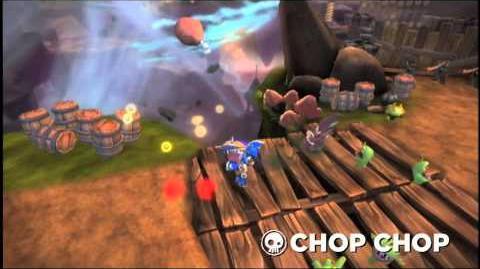 Skylanders Spyro's Adventure - Chop Chop Trailer (Slice and Dice)