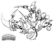 Skylanders undead