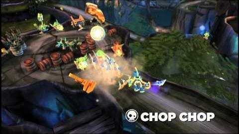 Skylanders Spyro's Adventure - Chop Chop