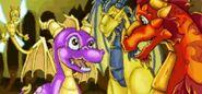 SpyroSparx Guardians GBA