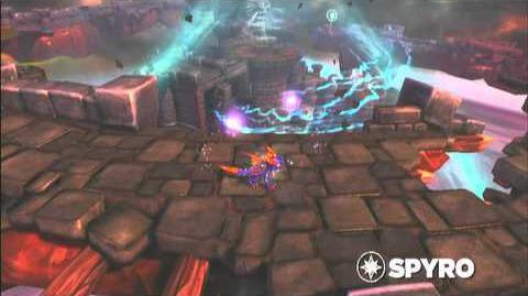 Skylanders Spyro's Adventure - Spyro Preview Trailer (All Fired Up)