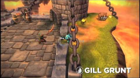 Skylanders Spyro's Adventure - Gill Grunt Trailer (Fear the Fish)