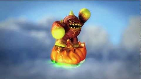 Skylanders Spyro's Adventure Updated Trailer - Eruptor (Born to Burn)