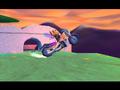 Princess Ami & Prince Azrael on a Motorbike