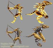 Bowman Orc models