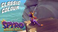 Spyro Reignited Trilogy Classic Spyro Re-colour Mod!