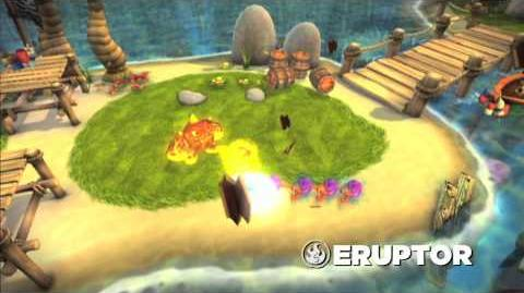 Skylanders Spyro's Adventure - Eruptor