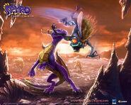 SpyroGrublins Wallpaper