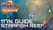 Spyro 3 Year Of The Dragon (Reignited) 117% Guide STARFISH REEF (ALL EGGS, GEMS..