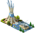 Silver AH-14 Attack Helicopter Monument.png