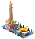 Gold A-46 Attack Aircraft Monument.png