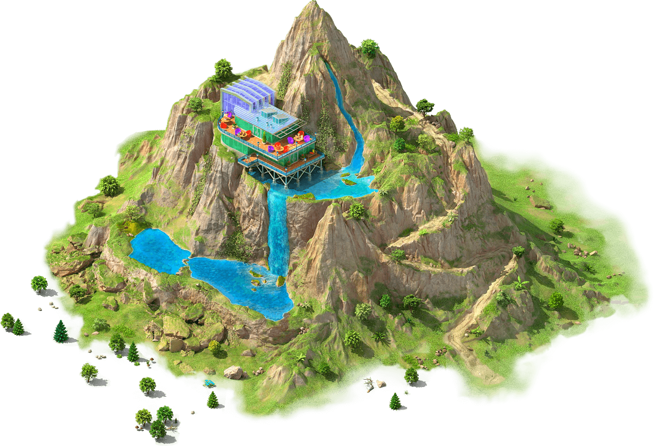 Artificial Mountain