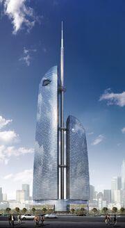 RealWorld Hilton Complex-City Center Tower.jpg